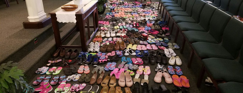 Shoe Drive for the People of St. Kitts