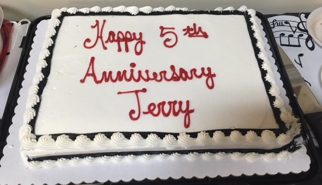 Jerry Todd's 5th Year Anniversary